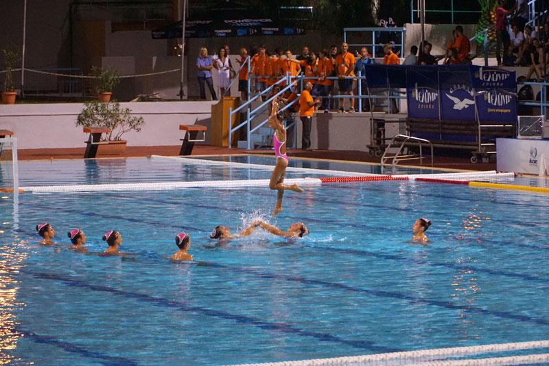 συγχρονισμένη-κολύμβηση-τελετή-έναρξης